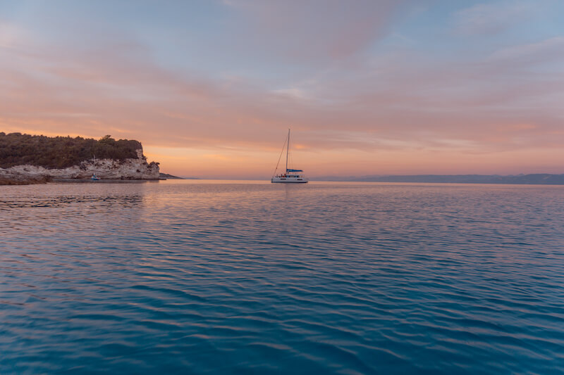 Segeln in Griechenland Ionisches Meer Voutoumi Bucht