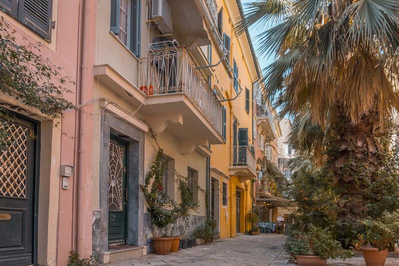 Segeln in Griechenland Korfu Stadt