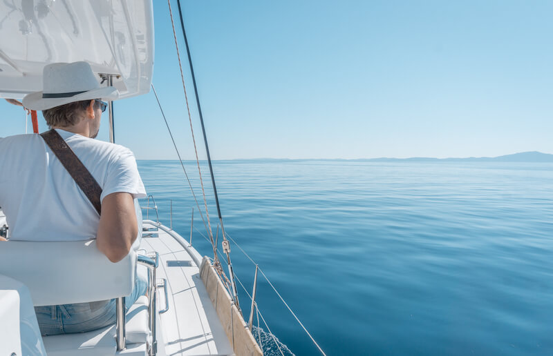 Segeln in Griechenland Sunsail Katamaran Ionisches Meer