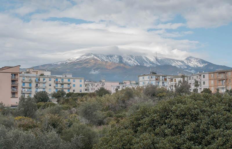 Sizilien Rundreise Aetna Etna Vulkan
