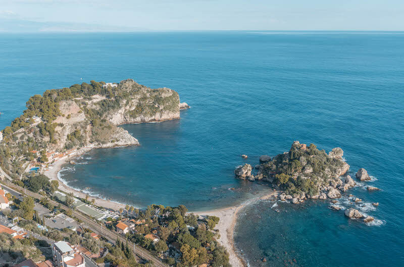 Sizilien Rundreise Isola Bella Taormina