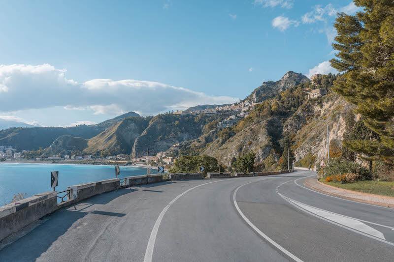 Sizilien Rundreise Mietwagen Taormina