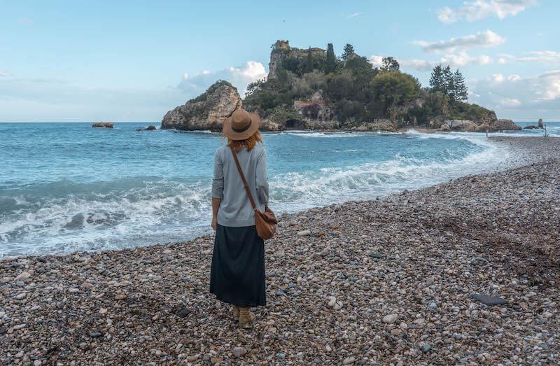 Taormina Isola Bella Sizilien