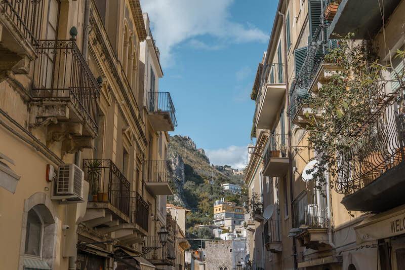 Taormina Sizilien Corso Umberta