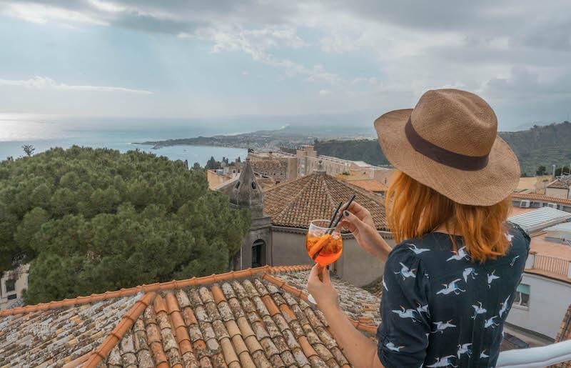 Taormina Sizilien Italien