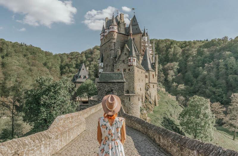 Jahresrueckblick 2017 Burg Eltz Deutschland