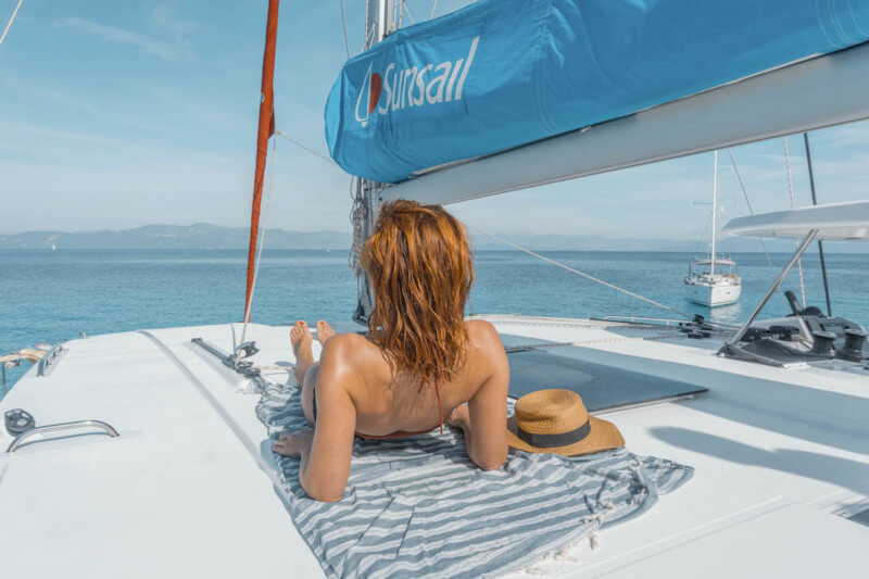 Jahresrueckblick 2017 Segeln in Griechenland