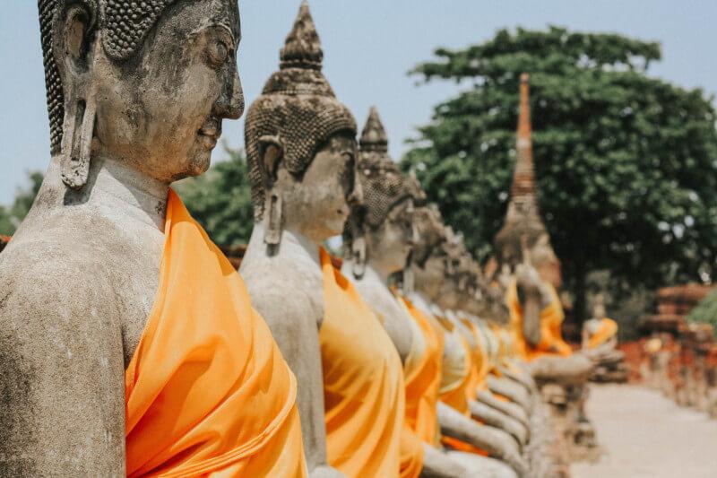 Thailand Urlaub Ayutthaya