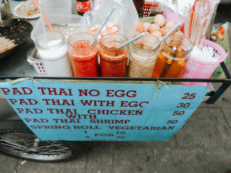 Thailand Urlaub Bangkok Khao San Road