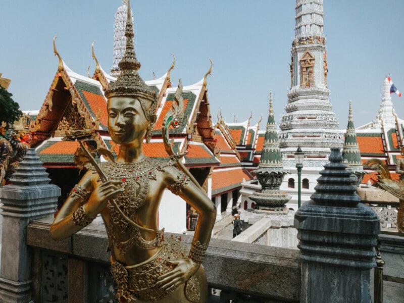 Thailand Urlaub Bangkok Tempel