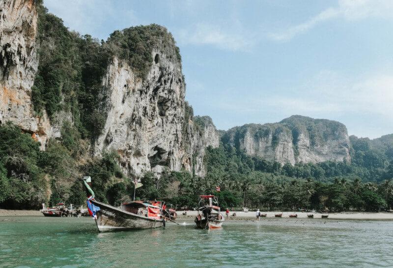 Thailand Urlaub Krabi Railay Beach