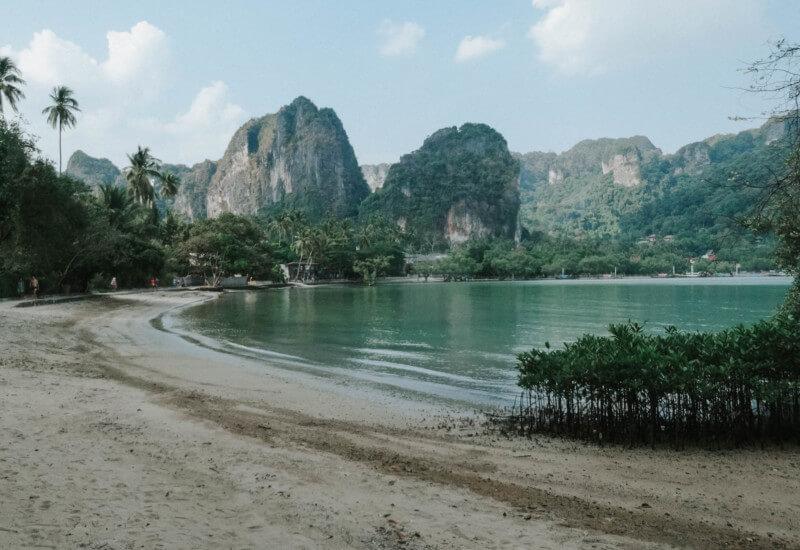 Thailand Urlaub Railay Beach Krabi Ao Nang