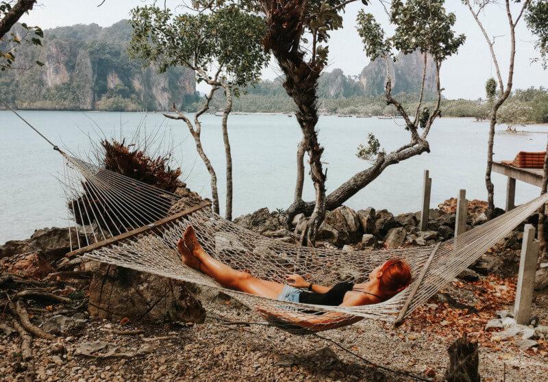 Thailand Urlaub Railay Beach Krabi