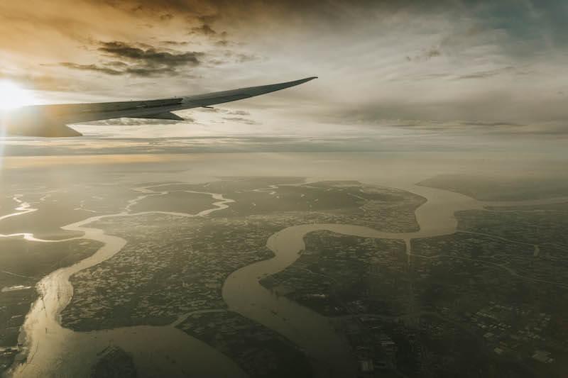 Flug Ho Chi Minh City Saigon Vietnam