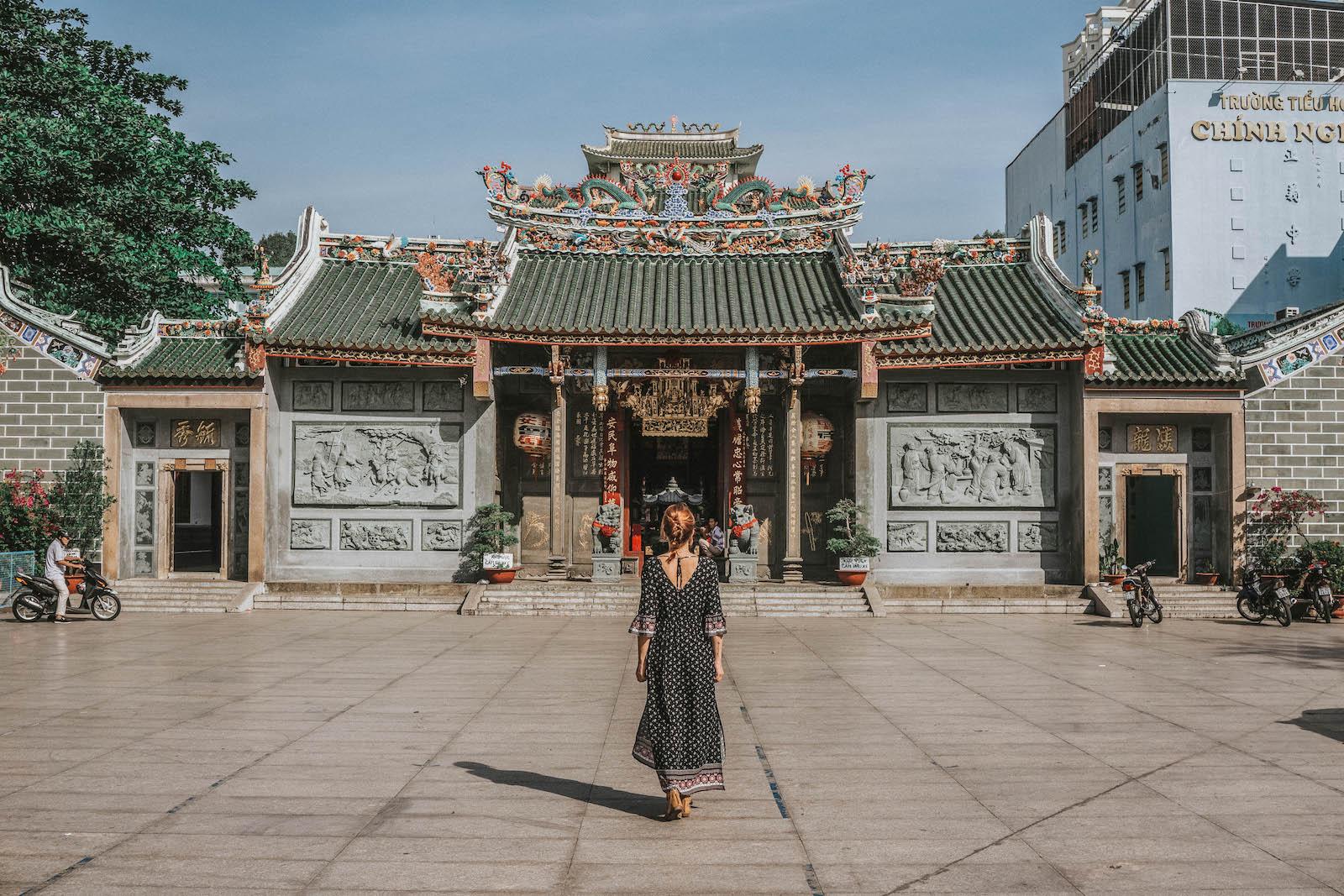 Ho Chi Minh City Saigon Thien Hau Tempel Chinatown Cholon