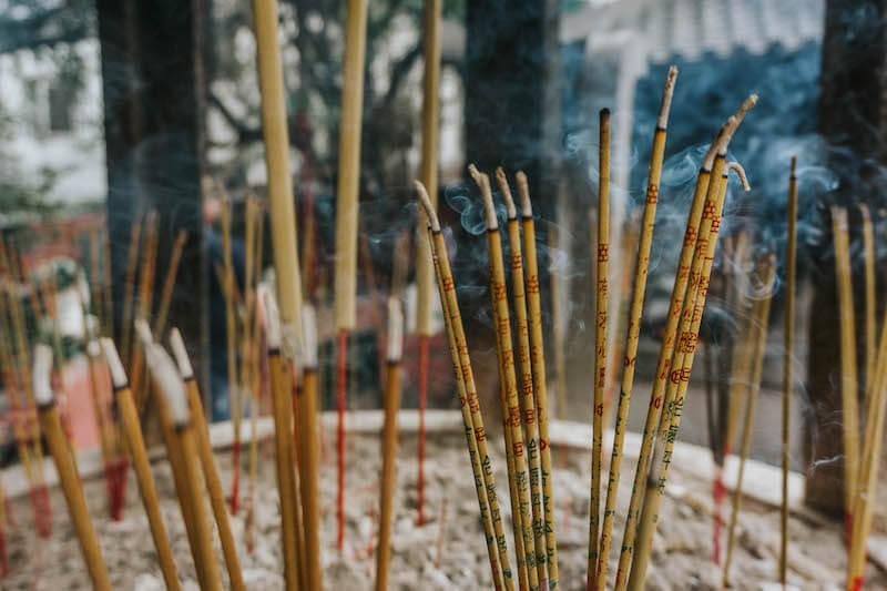 Ho Chi Minh City Saigon Vietnam Tempel Chinatown