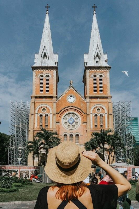 Kathedrale Notre-Dame Ho Chi Minh City Saigon