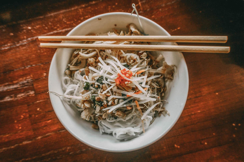 Essen in Vietnam Reisnudeln Food Guide