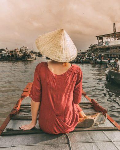 Mekong Delta Vietnam Floating Market