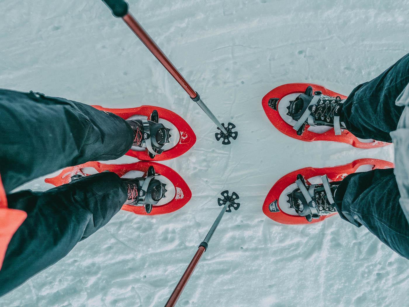 Mieminger Plateau Schneeschuhwandern Tirol
