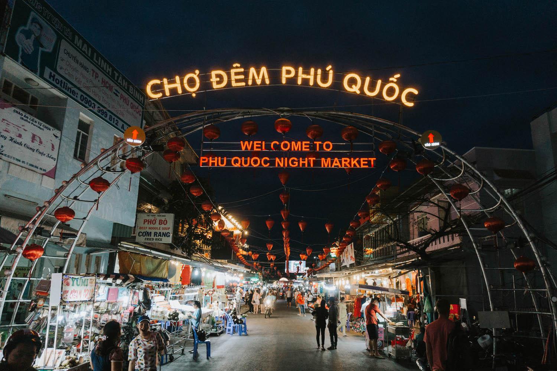 Phu Quoc Night Market Duong Dong