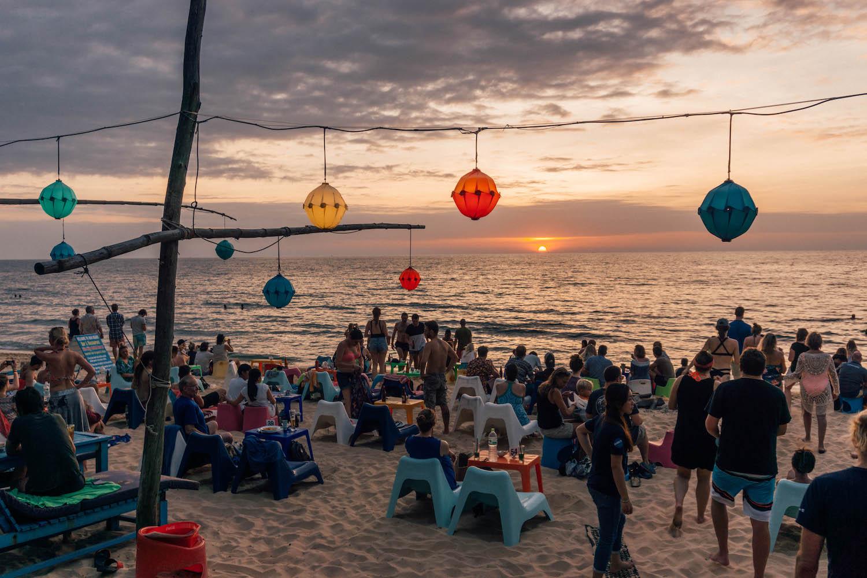 Phu Quoc Vietnam Long Beach Rorys Beach Bar