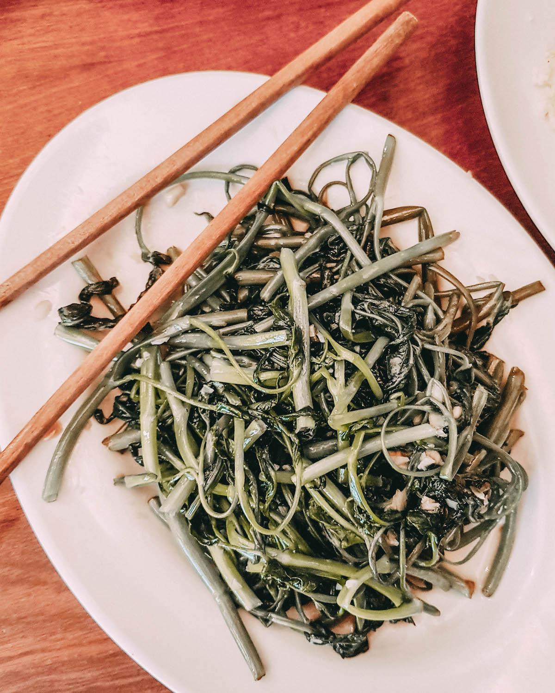 Vegetarisch essen in Vietnam Morning Glory