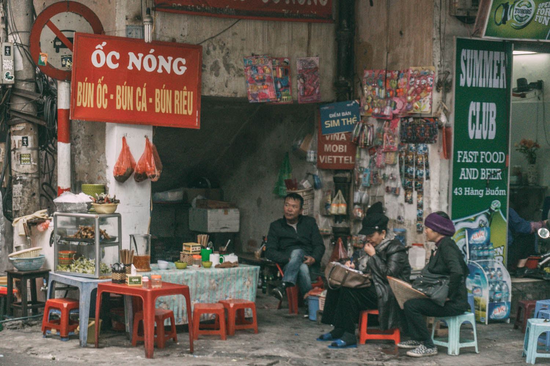 Vegetarisch essen in Vietnam Street Food