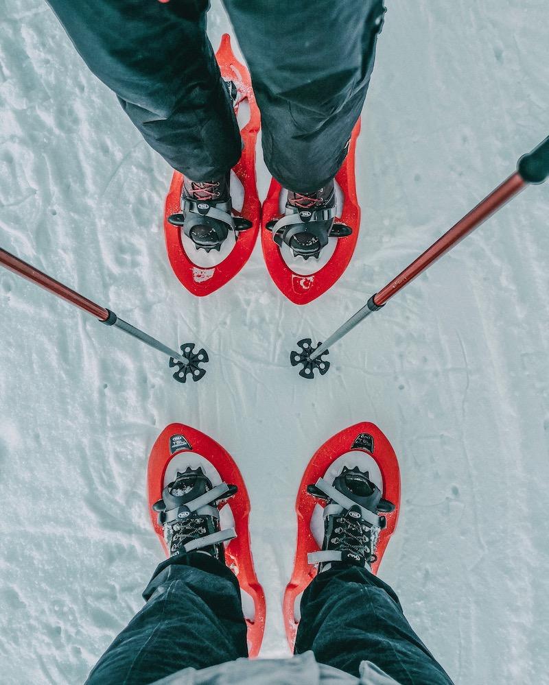 Schneeschuhwandern Mieminger Plateau