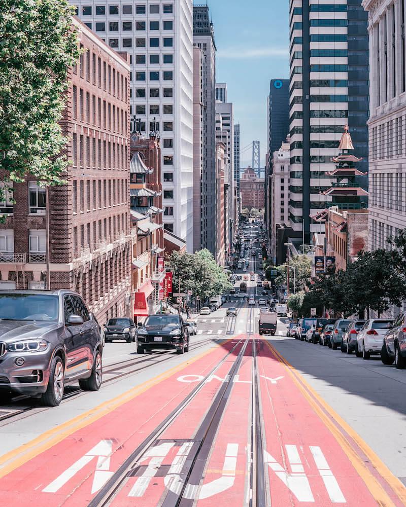 San Francisco Sehenswuerdigkeiten California Street