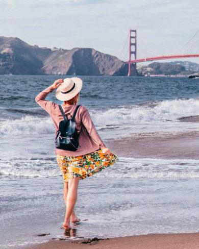 San Francisco Sehenswuerdigkeiten Baker Beach