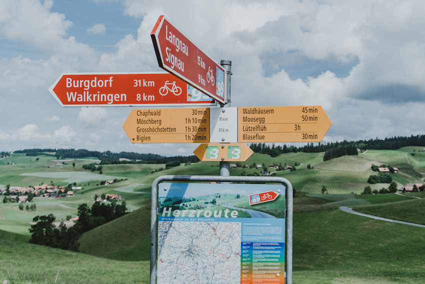 Emmental Herzroute Burgdorf