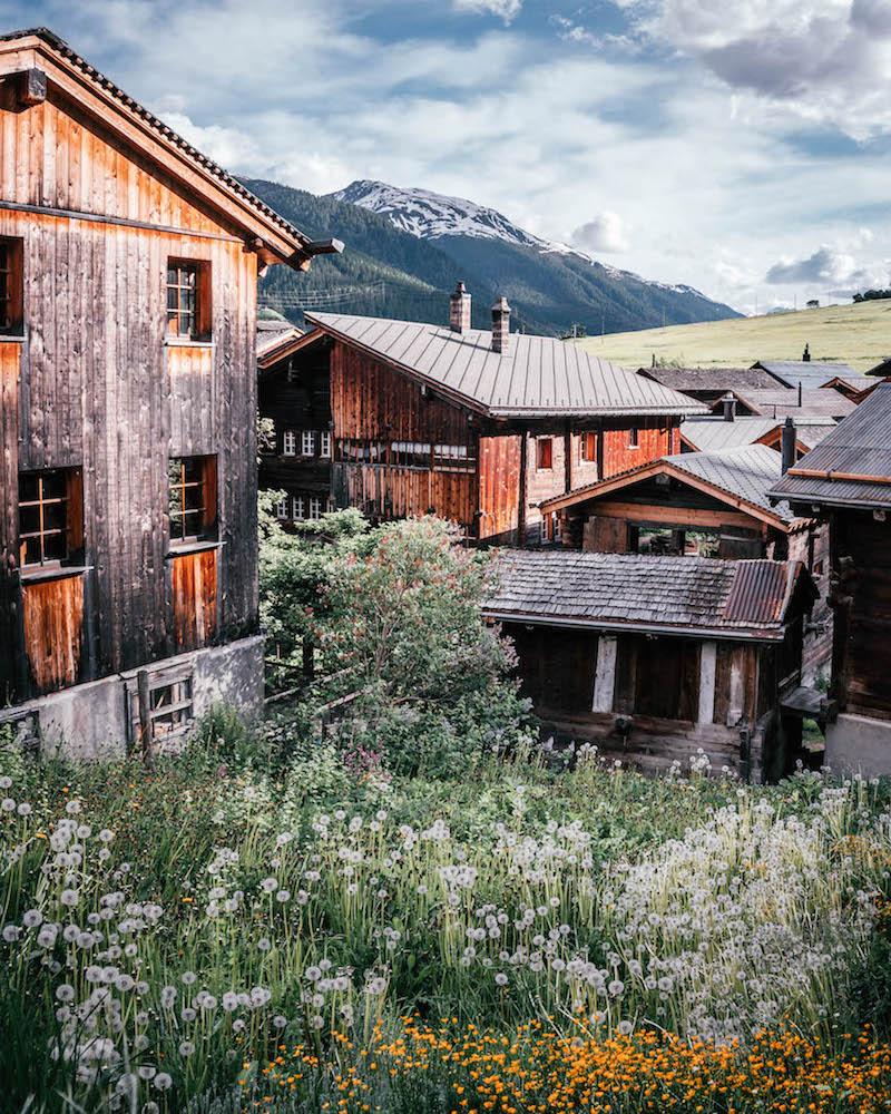 Wallis Geschinen Schweiz