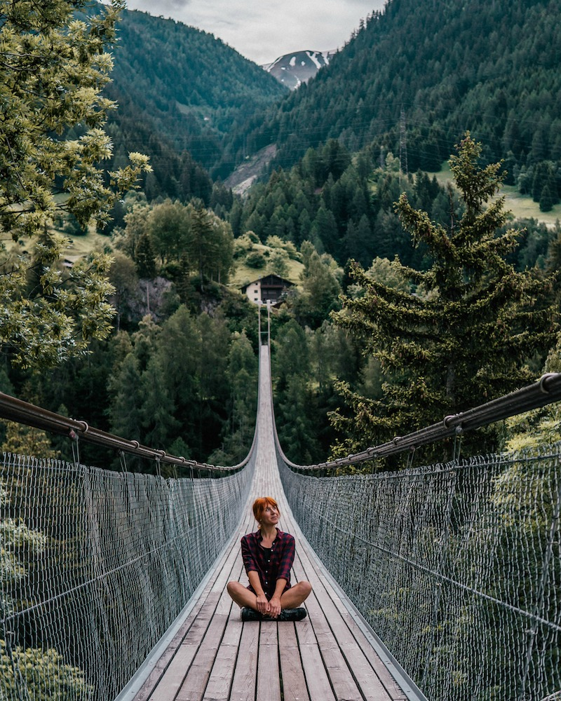 Wallis Schweiz GOMS Bridge