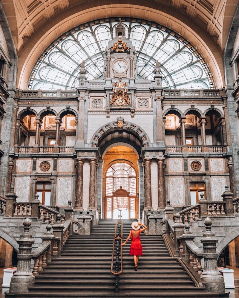 Antwerpen Sehenswuerdigkeiten Hauptbahnhof