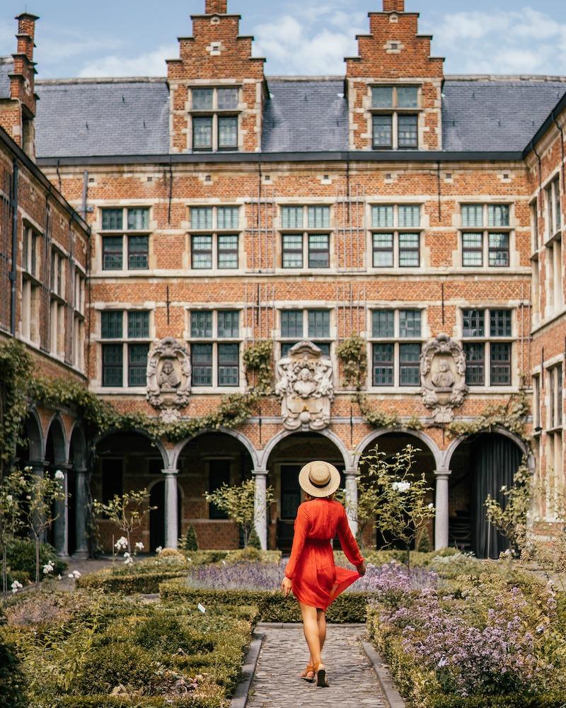 Antwerpen Sehenswuerdigkeiten Museum Plantin Moretus