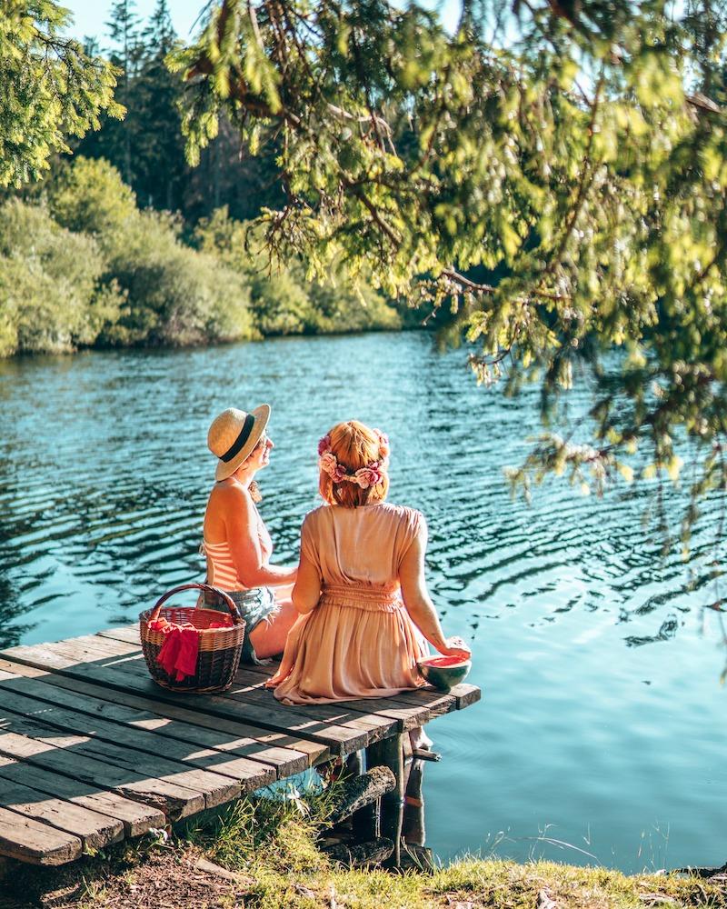 Etang de la Gruere Jura Drei-Seen-Land
