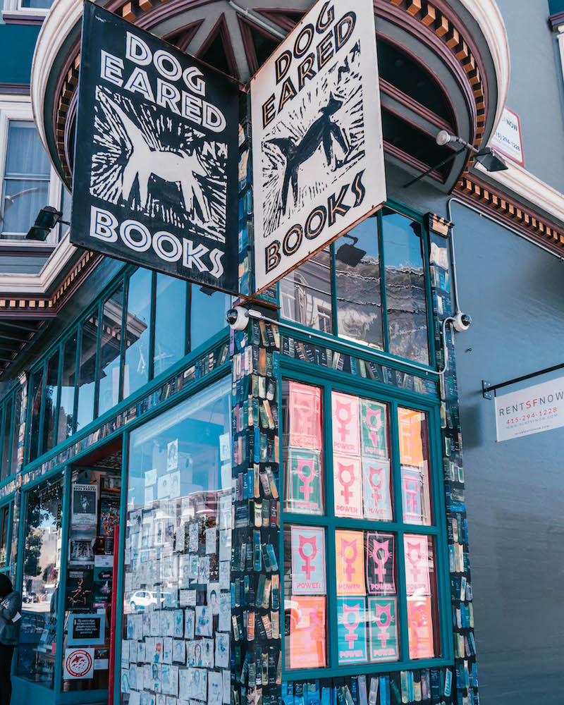 Mission District San Francisco Dog Eared Books