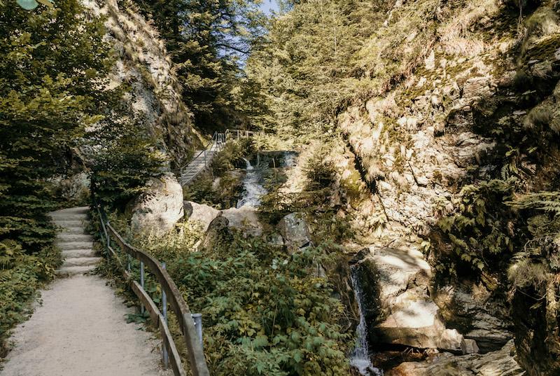 Allerheiligen Wasserfaelle Nordschwarzwald