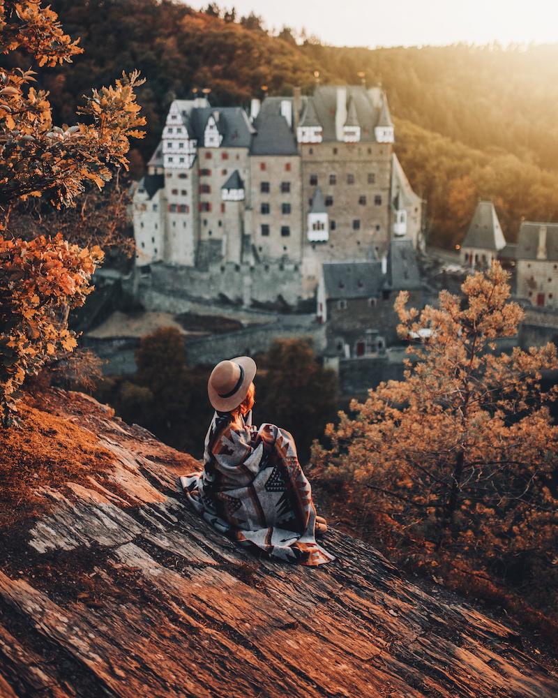 Burg Eltz Wanderung Der Traumpfad Eltzer Burgpanorama