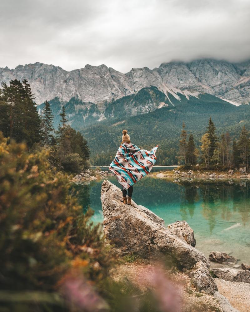 Eibsee Hinkelstein Zugspitze