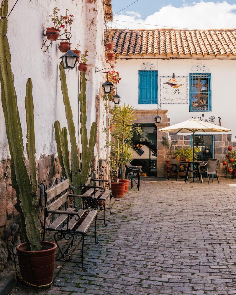 Peru Rundreise Cusco San Blas