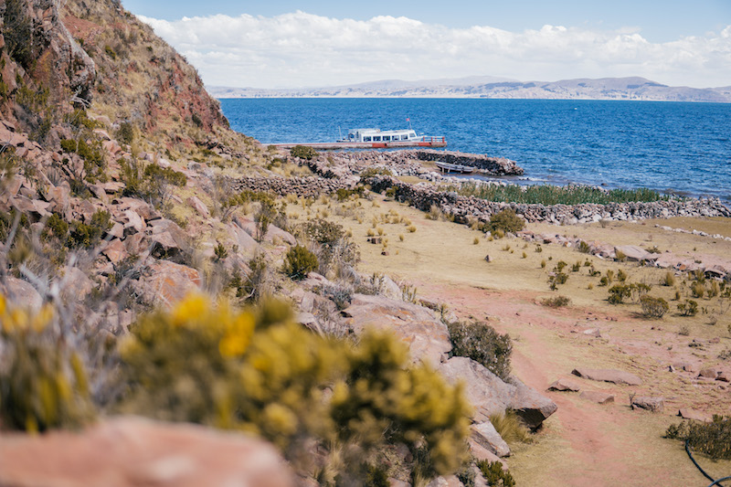 Peru Rundreise Isla Taquile