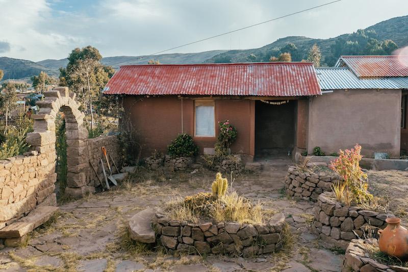 Peru Rundreise Homestay Titicacasee