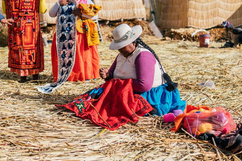 Peru Rundreise Titicacasee Schilfinseln