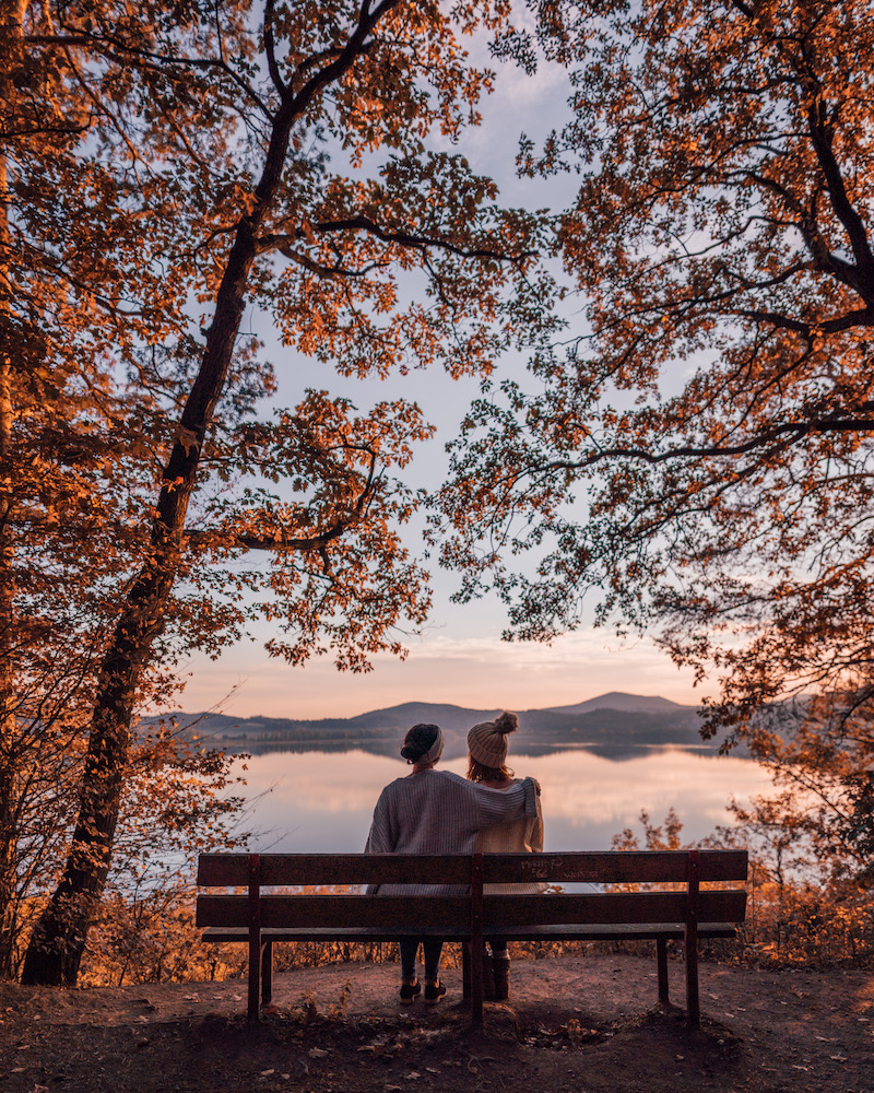 Herbst Laacher See Eifel