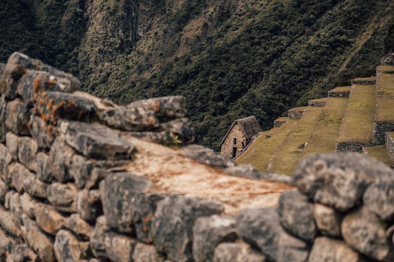 Inka Trail Machu Picchu Ruinen