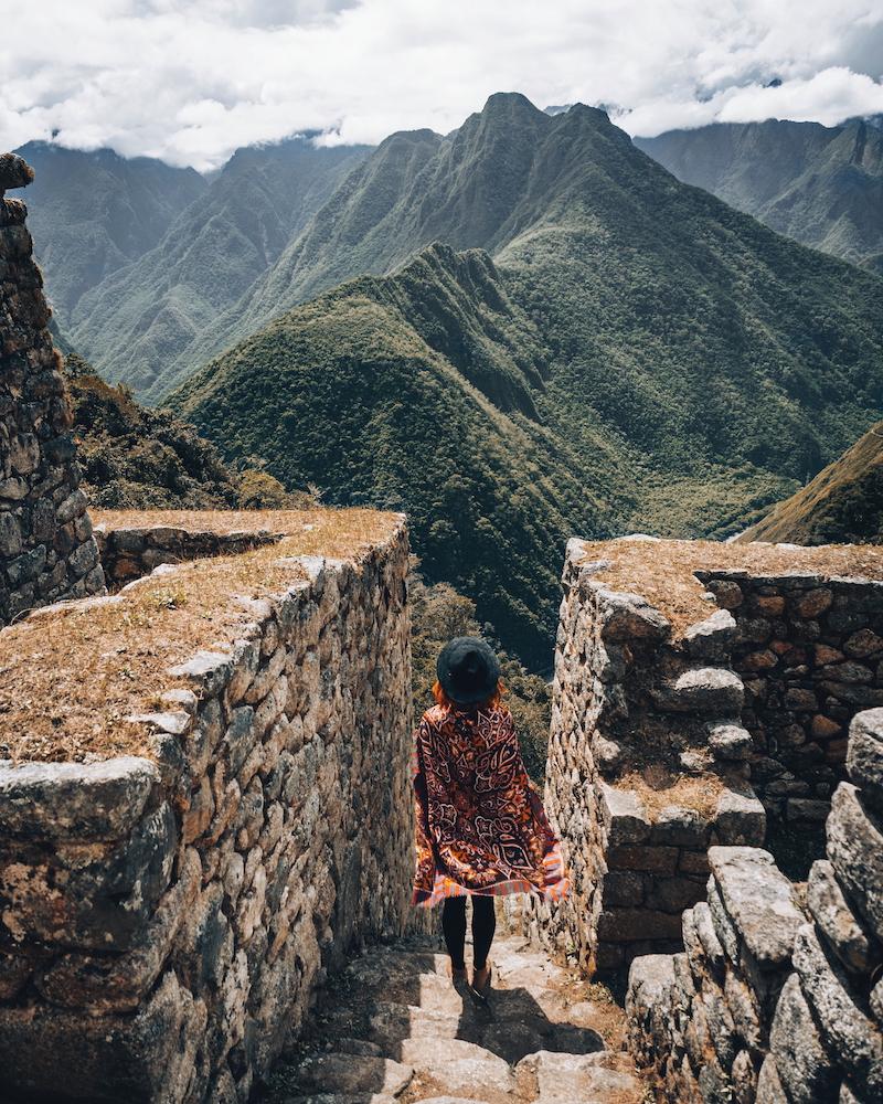 Inka Trail Winay Wayna Inkaruinen
