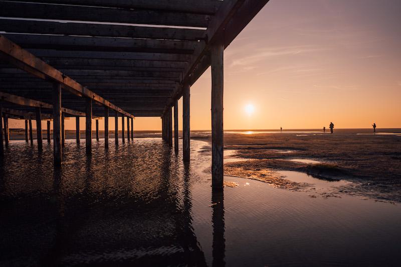 Schiermonnikoog Sonnenuntergang