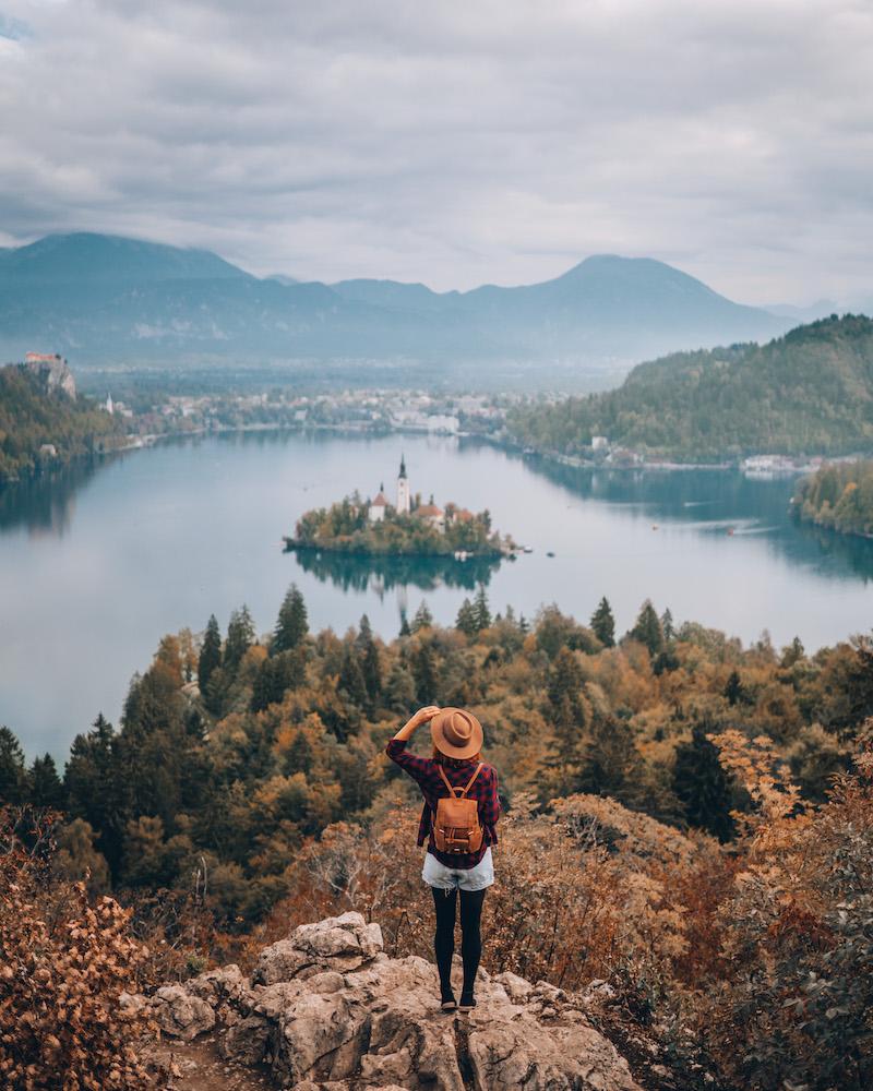 Slowenien Bleder See